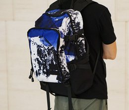 Wholesale camping bag mountain backpack - Supre17fw Mountain backpack fahion school bags