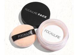Polvere d'avorio online-Nuovo trucco caldo FOCALLURE Face Loose Powder 3colors Impostazione Powder 7G Avorio Spedizione DHL di alta qualità