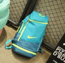 bbabc3075bb0 18SS NEW American Durant Basketball Bag high quality shark Thunder Sports  Shoulder Backpack KD Computer Bag