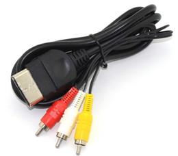 2019 xbox führen 24P 6ft AV Audio Video Composite Kabel Kabel RCA Kabel für XBOX 1. Gen DHL FEDEX FREIES VERSCHIFFEN LLFA günstig xbox führen