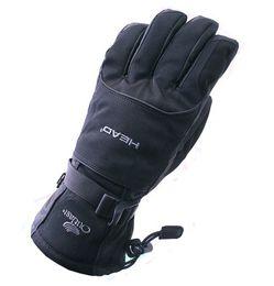 Wholesale winter leather cycling gloves - Thickening Men Ski Gloves For Winter Cycling Motorcycle Riding Black Mittens Non Slip Wear Resisting Sturdy Glove Keep Warm 33fj ZZ