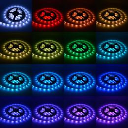 2019 ha condotto le luci del nastro per la casa Cintura lampada LED 5050RGB Cintura nastro a prova di acqua 12V Armadio per gioielli Fiexble Hotel Strip Soft Light Bar Decorazione festa in casa 5 5gz2 bb sconti ha condotto le luci del nastro per la casa