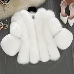 Argentina 2019 Abrigo de piel Haining de primavera, versión coreana Abrigo de piel de imitación de piel de zorro de gran tamaño. Suministro