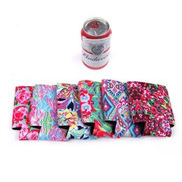 Wholesale curls styles - Creative Style Slim Can Insulators For Beer Or Energy Drinks Water Sleeve Neoprene Coolie Hot Bottle With Cover Keep Temperature 1 7ny Z
