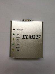 Wholesale Nissan Stocks - elm 327 usb port metal v1.4 real version obd2 diagnostic cable Eobdii High quality in stock