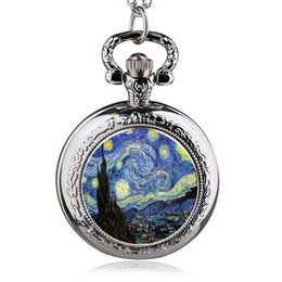 Wholesale Old Bronzes - Retro Fashion Mens And Womens Pocket Watches Imported Quartz Students Old Antique Watch Drop Shipping