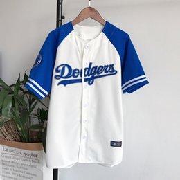 Mochilas de baseball unisex on-line-Hip Hop t shirt das mulheres dos homens de Beisebol Streetwear Unisex Harajuku Do Punk camisas de Beisebol t camisas