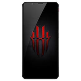 """Красный ром онлайн-Оригинальный мобильный телефон ZTE Nubia Red Magic NX609J 4G LTE 8 ГБ ОЗУ 128 ГБ ROM Snapdragon 835 Octa Core Android 6.0 """"Полноэкранный 24MP сотовый телефон"""