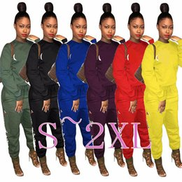 Women Tracksuit Autumn Long Sleeve T Shirt Pants Tights Leggings 2 piece Sportswear Brand Sports GYM Joggers Clothes Clothing