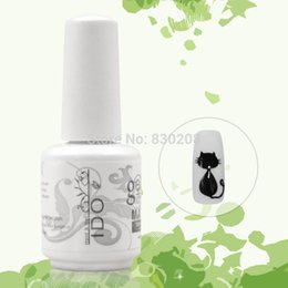Wholesale Uv Gel Nail Polish Ido - Art 6pcs Free shipping Led polish uv gel polish IDO nails Matte Top coat