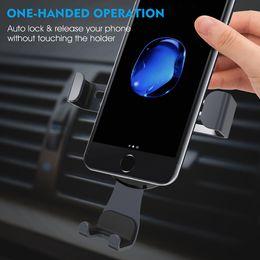 Wholesale black modeling - carinashop Cell phone car holder Novel modeling car phone holder Multiple colors