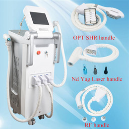Wholesale tattoo skins for sale - Rf machines for sale handle laser ipl hair removal nd yag laser tattoo removal used spa equipment