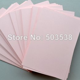 Wholesale Wedding Owns - 100PCS LOT,Pink blank cards.Paper crafts.Handmade invitation cards,Create your own cards,DIY wedding cards,15.5x10.8cm,On stock