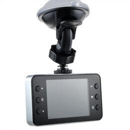llave completa hd Rebajas Coche DVR de 2,4 pulgadas K6000 Full HD Dash Cam Dashcam LED Night Recorder CAMCORDER PZ910 Aparcamiento monitoreo de detección de movimiento One Key Lock