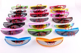 Wholesale Running Sunglasses Women - 22 Colors Men Women Trend Running on The Board Piece Multicolor Sunglasses Outdoor Sports Cycling Riding Glasses Cosplay X-MEN Goggle 9003