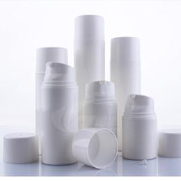 2019 recipientes tampa rosa 50 pçs / lote 30 ml 50 ml 80 ml 100 ml 120 ml 150 ml PP airless frasco de vácuo bomba de loção garrafa usado para Containe Cosmética