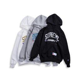 0fb2305c6 18ss Fashion America Star box logo Sideline Winter Skateboard Sleeve logo  Cotton Hoodie Hoody Men Women Pullover Hooded Sweatshirt