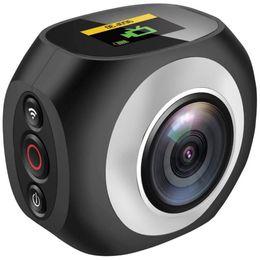 2019 уникальный hd 8 ГБ памяти 4K HD 360 градусов панорамная камера VR мини портативный уникальный двойной объектив Спорт камеры WiFi видео действий Спорт камера Pano DV39 скидка уникальный hd