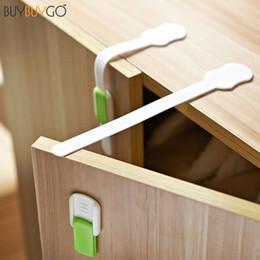 sicurezza in plastica Sconti 10pcs allungato Bendy Baby Safety Locks Cabinet Drawers Frigorifero WC regolabile in lunghezza di plastica per la protezione del bambino
