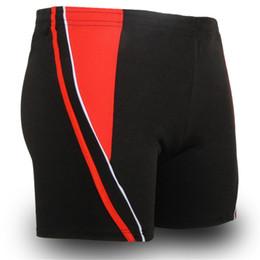 Wholesale 4xl Mens Briefs - Wholesale-Mens Swimwear Mens Boxer Shorts Swimsuit Swimming Trunks Male Swim Surf Bathing Suit plus size XXXXL Quick-drying briefs