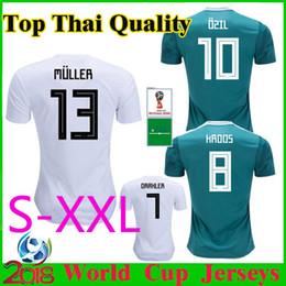 MULLER Camiseta de fútbol GeRMany 2018 World Cup OZIL KROOS Camiseta de  fútbol 2019 HUMMELS GOTZE Camiseta de fútbol verde 18 19 National Team 3413190a2fb15