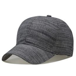 7d417f84c1c71 100% Hombres Big Head Gorra de béisbol Color negro   gris Gorra de adultos  con pico de gran tamaño Sombrero de papá Circunferencia 56-68cm Lana Hip Hop  Hat ...