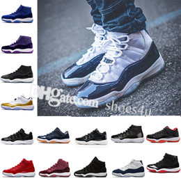 Wholesale girls white satin shoes - Gym Red 11 Space Jam 45 Basketball Shoes Boys Girls Training Sneakers Athletic Shoes Birthday Gift Gamma Blue Black Red White US 5.5-13