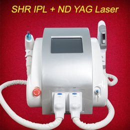 Wholesale face hairs - OPT SHR IPL laser machine fast hair removal Nd Yag laser tattoo removel Elight Skin Rejuvenation alexandrite laser