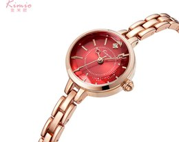 Wholesale Kimio Watches - Kimio Ladies Time-limited Watches 2017 Women Watch Thin Strap Famous Brand Fashion Stainless Steel Bracelet Quartz Wrist For Montre Femme
