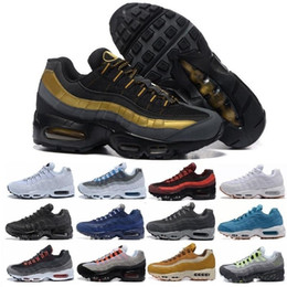 Argentina Nuevo Más Color Drop Shipping men women Famous Cushion 95 Mens Deportes Athletic Running Shoes Tamaño del zapato deportivo 36-45 Nike Air Max AIRMAX supplier 95 running shoes Suministro