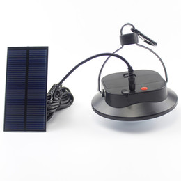 12-вольтовая лампочка Скидка Горячие Продажи Открытый 6LED Солнечной Энергии Аварийная Аккумуляторная Лампа Открытый Спорт Солнечной Энергии Кемпинг Палатка Лампы Поддержка Батареи
