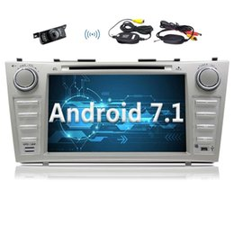 gp toyota Coupons - Eincar For TOYOTA Camry 2007 2008 2009 2010 2011 2012 8''Android 7.1 Indash CAR DVD Player GPS Navigation Bluetooth Radio 2G+32G Octa-core