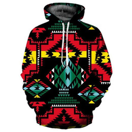 Wholesale colorful sewing buttons - 22017 Hot Sewing 3D Aweatshirts Men's Geometrical Hoodie Casual Men's   Women's Warm Pullover Harajuku Colorful Homme Hoodie