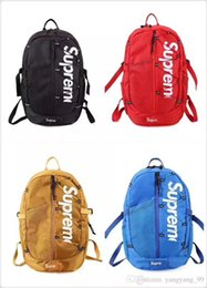 Wholesale Yellow Gift Bags - Best Luxury Backpack Travel Bags Christopher Mans Women Christmas gift Backpacks Authentic Quality Back School Outdoor Sports Packs 30*24