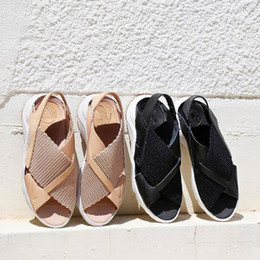 Wholesale Women Massage Slippers - With Box Air Huarache Ultra Sandal Women Sandals Fashion Huaraches Outdoor Indoor Slip-On Casual Shoes Slippers Beach Sandals Size US 5-8