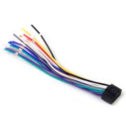 Автомобильный радиоприемник стерео жгут проводов CD-плеер Plug кабель шнур 16 контактный разъем, пригодный для Kenwood от Поставщики стерео