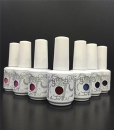 Wholesale Led For Nails - High Quality! Soak Off Nail Gel Polish For Nail Art Gel Lacquer Led uv Harmony Gelish Base Coat Foundation & Top coat 15ml