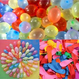 Wholesale funny water sports - 111 pcs Water Balloons Balls Funny Summer Beach Games Water Sports Sprinking Ballon colorful water balloon balls