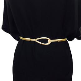 Disponible Nueva Marca de Moda de Lujo Cinturón de Metal Para Mujeres Ms  Cadenas de Cintura Elástica Femenina Vestido Ancho Cinturón de Metal  Ceinture Femme 75fda3505e41