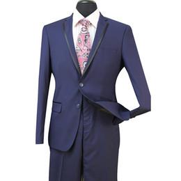 trajes de boda de color gris claro de los hombres Rebajas Slim Fit Groom Tuxedos Groomsmen Light Grey Side Vent Wedding Wedding Best Man Suit Trajes de hombre 3 piezas (chaqueta + chaleco + pantalones) ST008