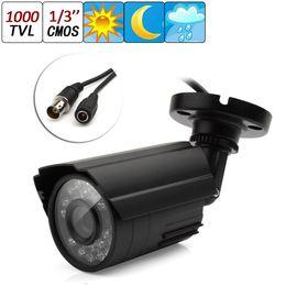 Wholesale Cctv Lens 6mm - 1000TVL 6mm Lens 1 3 CMOS Outdoor CCTV Security Camera IR Color Night Vision Waterproof CCT_154