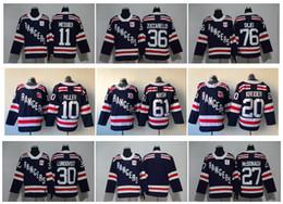 Wholesale Jersey 76 - 2018 Winter Classic NY New York Rangers Hockey Jerseys 36 Mats Zuccarello 27 Ryan McDonagh Lundqvist Miller Nash 76 Brady Skjei 93 Zibanejad