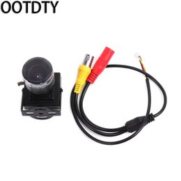 Wholesale Zoom Security Mini Camera - OOTDTY HD 700TVL CMOS 2.8-12mm Zoom Lens Mini Security Camera Audio Video DIY New