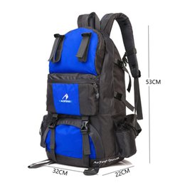 c35ec412d02 50L larger Size Hot sale custom travelling sports backpack school hiking  backpack nylon water proof bag backpack custom sports bags on sale