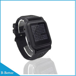 Nouvelle arrivée MP4 Watch Mémoire 8 Go eBook Watch Support Lecteur de livre électronique Lecteur de musique Différentes langues ? partir de fabricateur