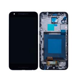 Canada Original Pour LG Google Nexus 5X H790 Écran Tactile Digitizer Affichage LCD Avec Assemblage Cadre 5.2inch Noir Écran Pièces De Réparation En Gros Offre