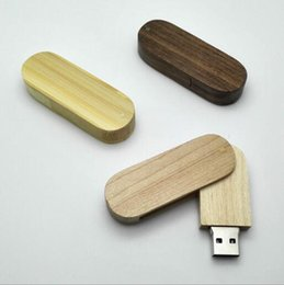 Wholesale Memory Gift Wedding - branded usb flash drives Wooden stick Pendrive 8GB USB 2.0 Memory stick USB Falsh Memory 4GB 16GB 32GB 64GB for Wedding gift