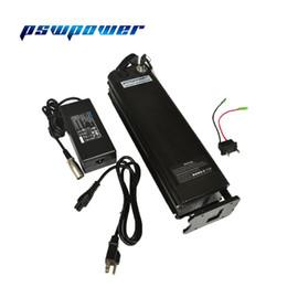 Батареи europe онлайн-Европа или США акции 48V 13Ah 36V 13AH серебряная рыба Ebike электрическая аккумуляторная батарея с зарядным устройством 2A может работать на 500W 750W мотор /