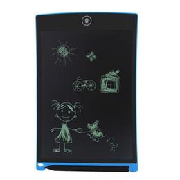 "Wholesale Mini Drawing Board - 8.5"" Writing Tablet LCD Tablet Drawing Pen Mini Writing Message Board Handwriting Pads as Whiteboard Bulletin Board Memo Board"