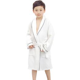 2019 хлопок детские халаты Дети с капюшоном халат полотенце дети мальчики девочки хлопок прекрасные халаты халат дети домашняя одежда пижамы с поясами девушки халат скидка хлопок детские халаты